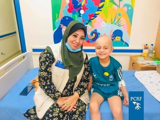 PCRF Service in the Dr. Musa and Suhaila Nasir Pediatric Cancer Department Continues