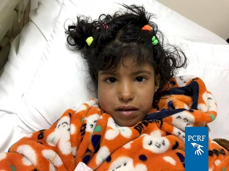 Refugee Girl Sponsored for Hip Surgery in Jordan