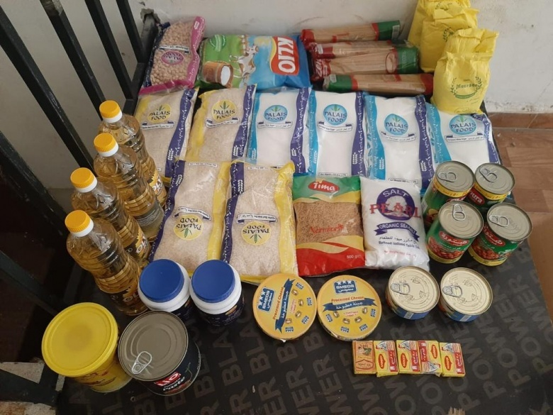Food Distribution for Refugees in Lebanon