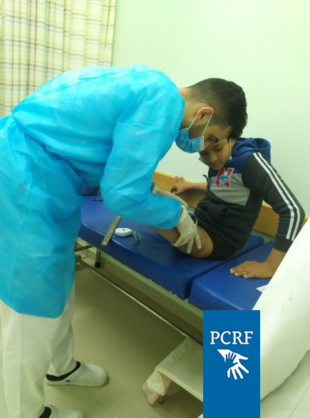 Waseem Continues Treatment at Hamad Hospital
