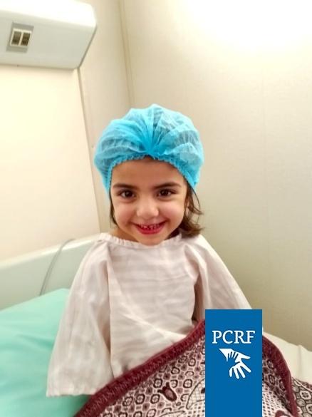Syrian Refugee Girl Has Surgery in Jordan