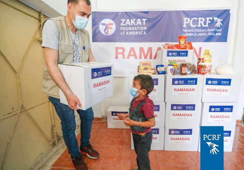 PCRF Partners with Zakat Foundation to Distribute Food in Gaza