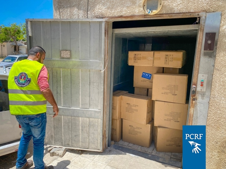 Despite our office being bombed, we are distributing urgent humanitarian aid in Gaza