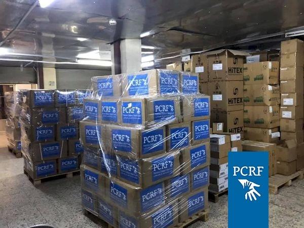 Shipment on its way from Jordan to Gaza