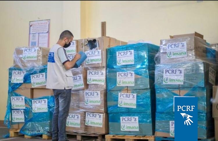 PCRF and IMANA join for urgent shipment to Gaza