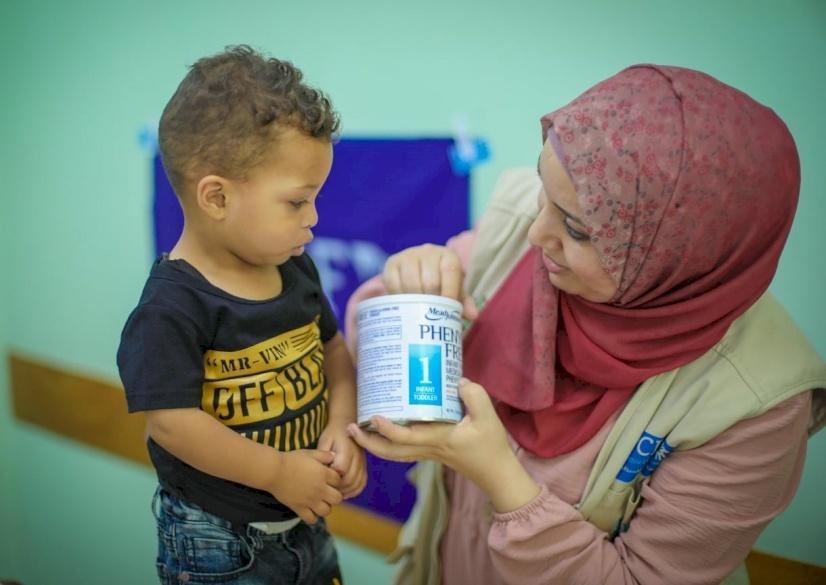 Gaza Children Get Special Formula to Help Treat Their Disease