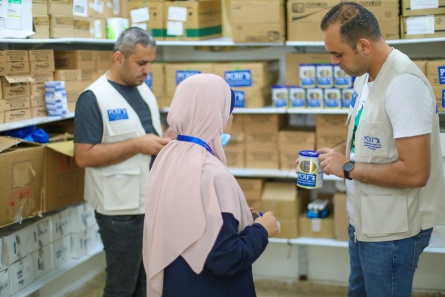 PCRF Delivers Formula to Hospitals in Gaza