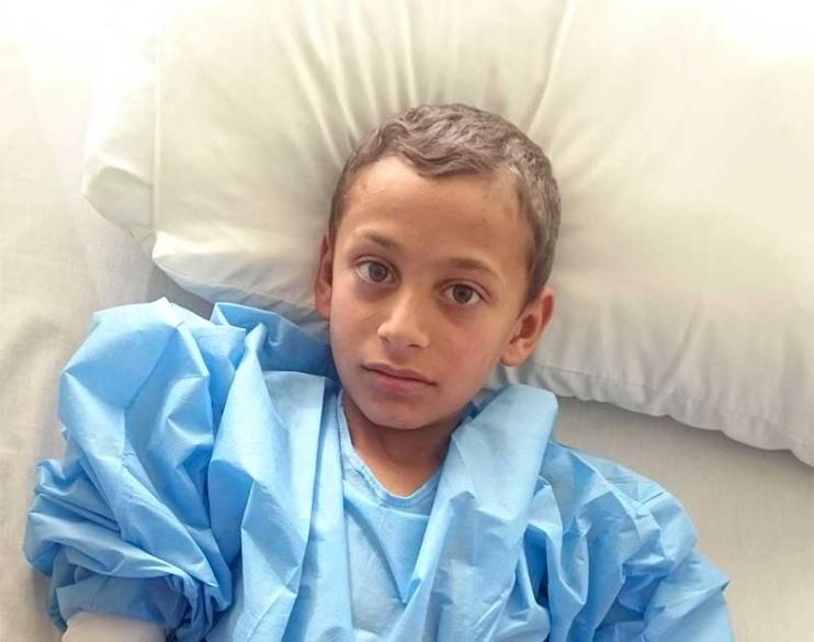 Aleppo Refugee Sponsored for Surgery in Jordan