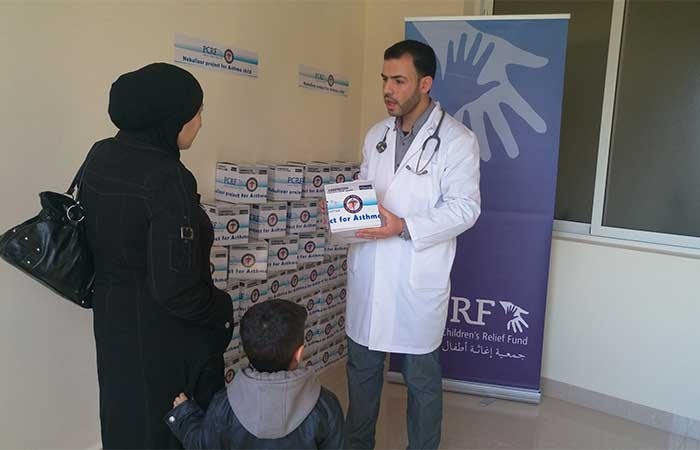 PCRF Distributes Nebulizers for Refugees in Lebanon