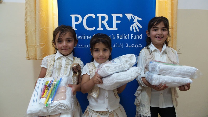 Orphans in Jenin Get Relief