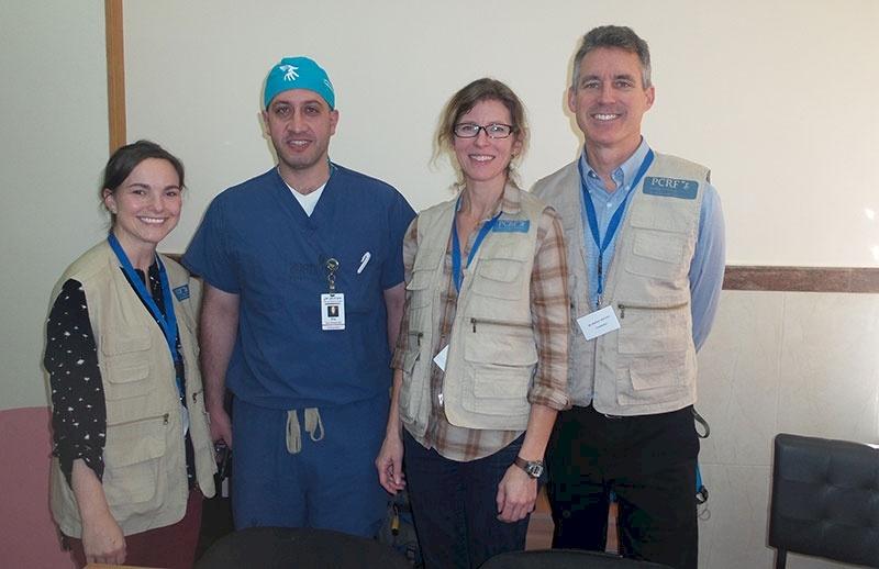 Orthopedic Surgeon Returns to Palestine