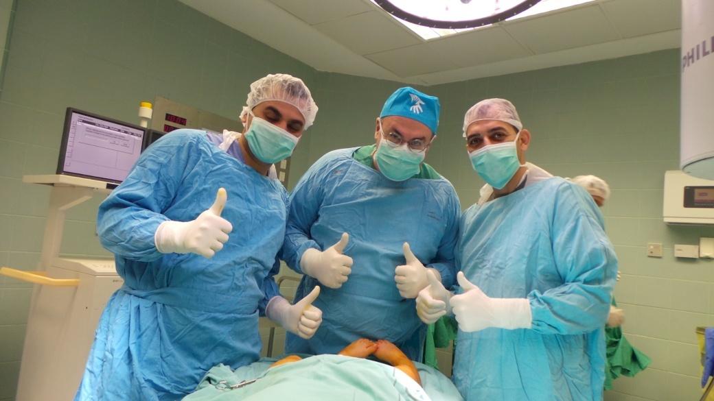 Pediatric Orthopedic Surgeon Completes Mission in Ramallah
