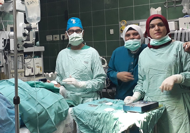 Australian Surgeon Returns to Palestine
