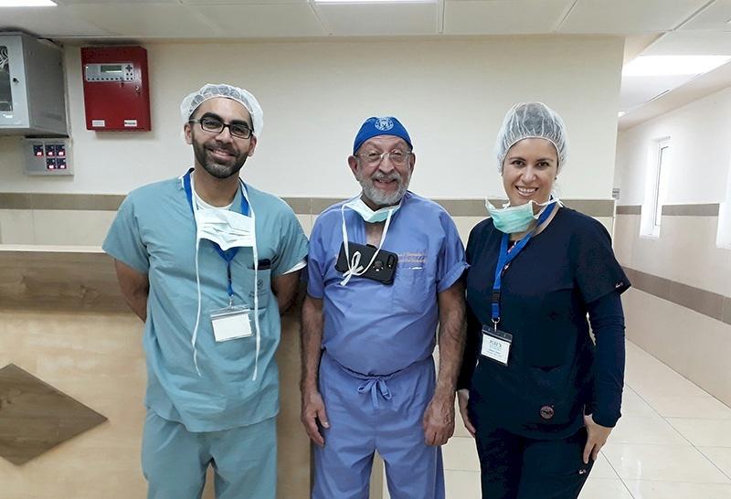 American Hand Surgery Team Volunteers in Palestine