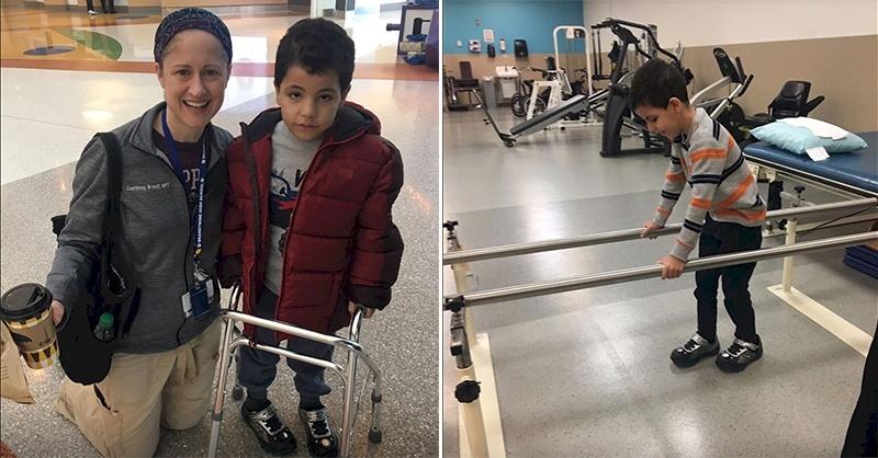 Gaza Boy Returns Home After Surgery