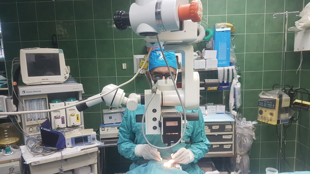 Eye Surgeon Returns to Nablus