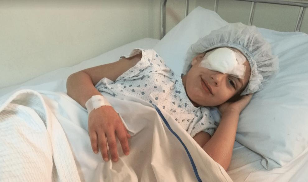 Palestinian Girl Has Surgery in Lebanon