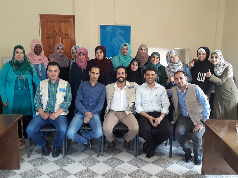 Two-week Training Course to Treat Traumatized Children Completes in Gaza