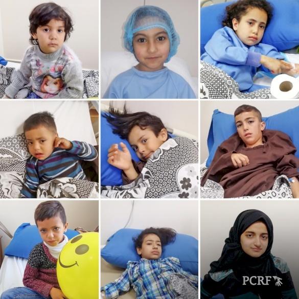 Nine Refugee Children Sponsored for Surgery in Jordan