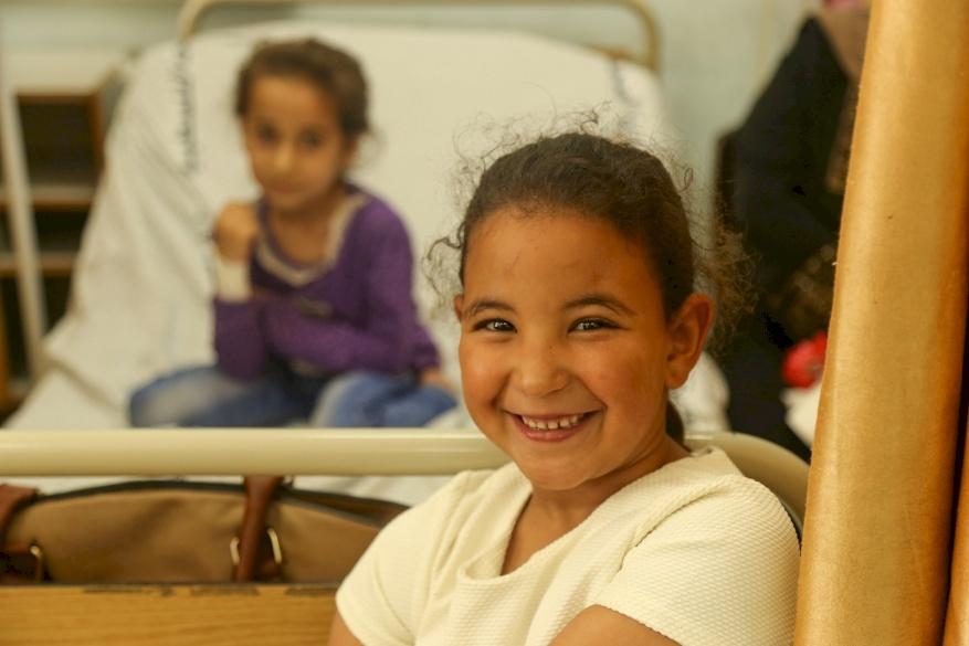Italian Pediatric Cardiology Mission Treats Children in Gaza