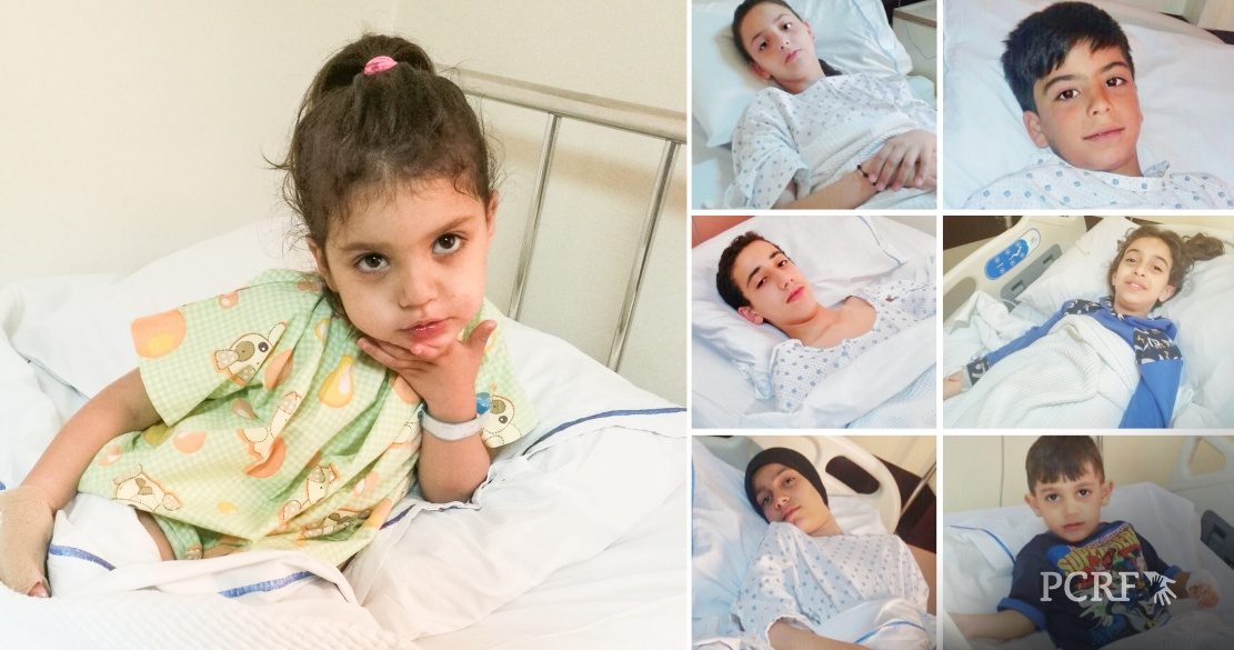Nine Refugee Sponsored for Surgery in Lebanon