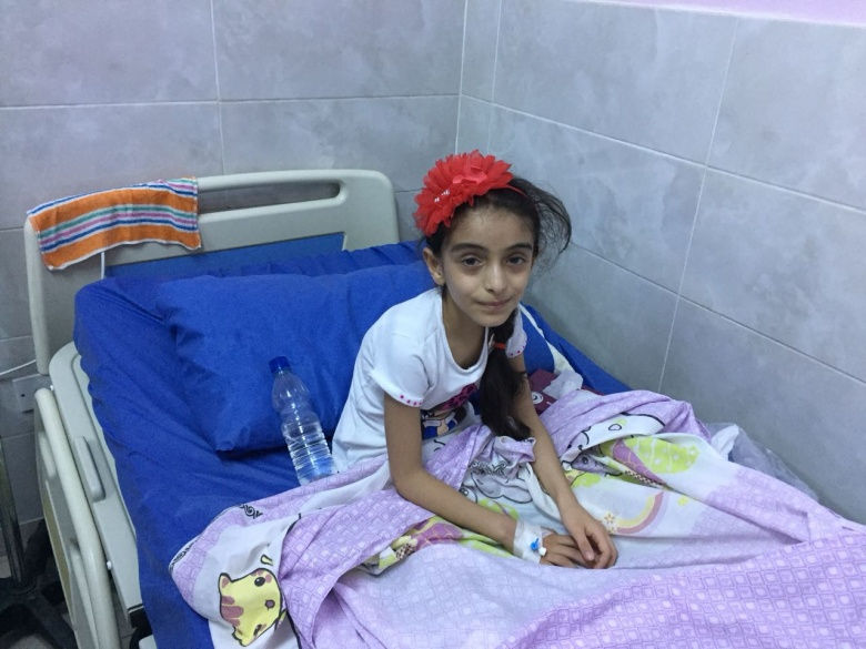 Syrian Refugee Has 2nd Surgery in Jordan