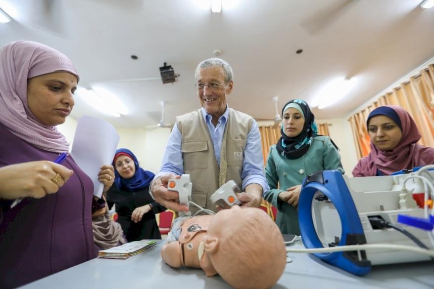 Life-Support Training Starts in Gaza