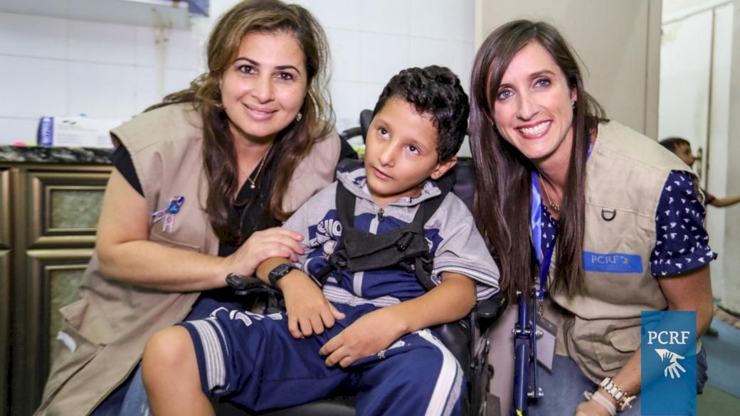 Pediatric Dental Team Moves to Gaza