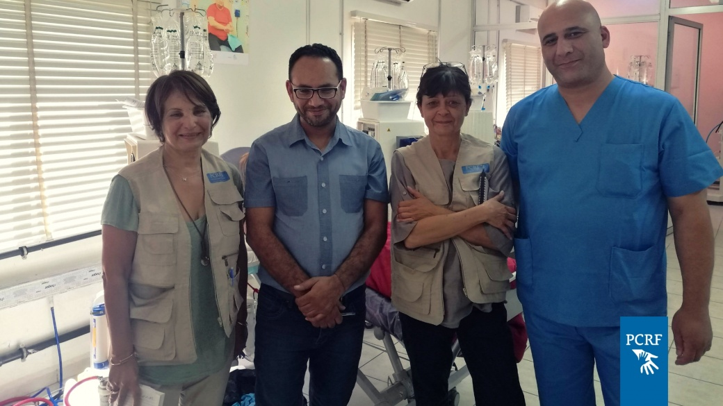 Nephrology Team Arrives in Lebanon to Support Local Staff