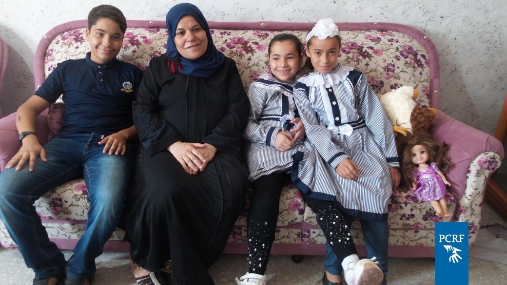 Gaza Girl Returns Home