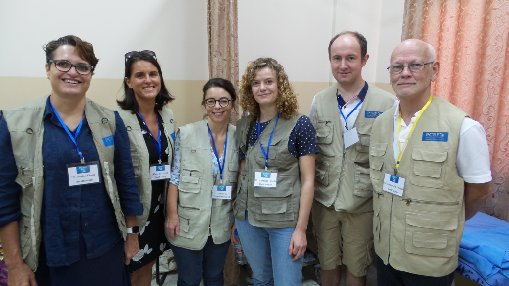 French Surgery Team Returns to Jenin
