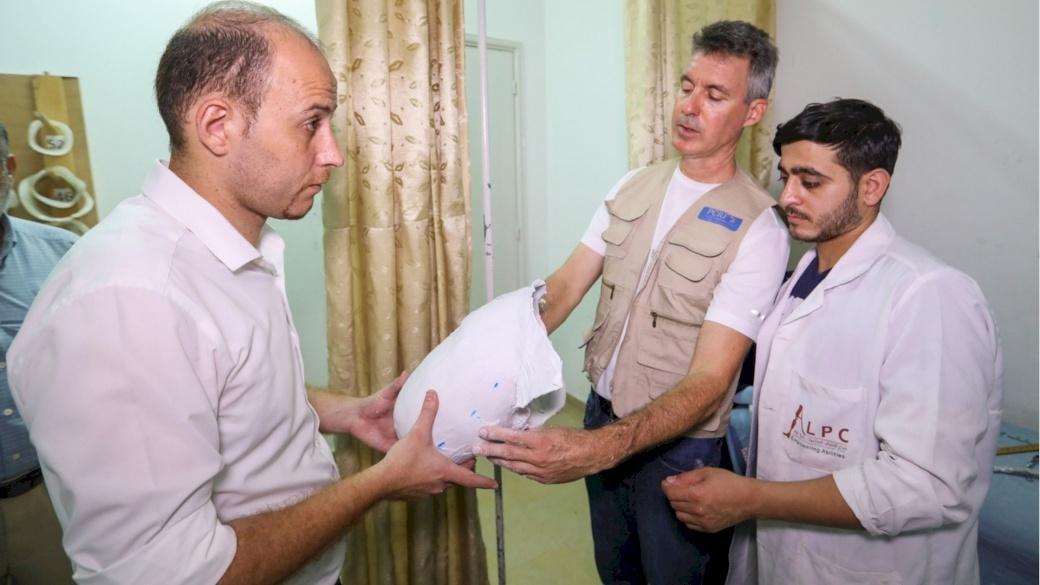 American Prosthetic Team Arrives in Gaza