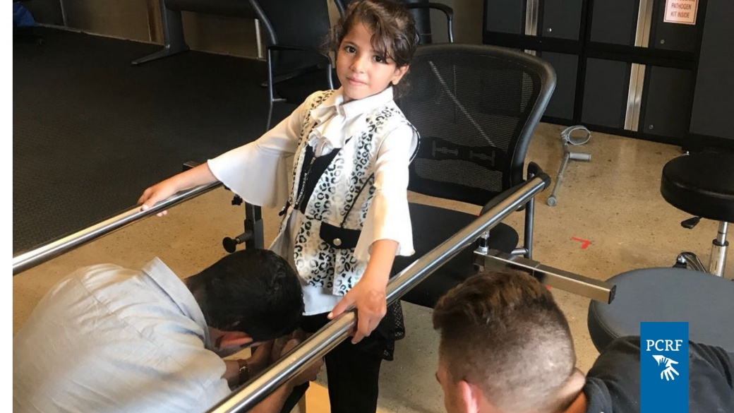 Palestinian Girl Learns To Walk Again