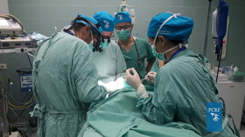 Iberian Surgery Mission Operates in Ramallah