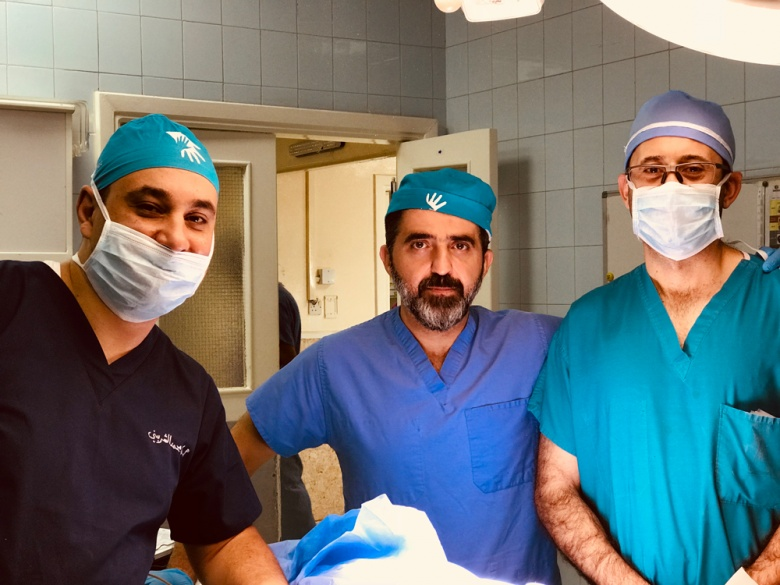 Egyptian Surgery Team Returns to Jordan to Treat refugees