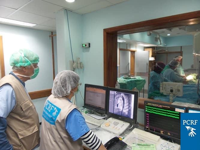 Italian Pediatric Cardiology Team Returns to Gaza
