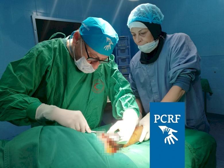 Plastic Surgeon Returns to Treat Refugees in Lebanon