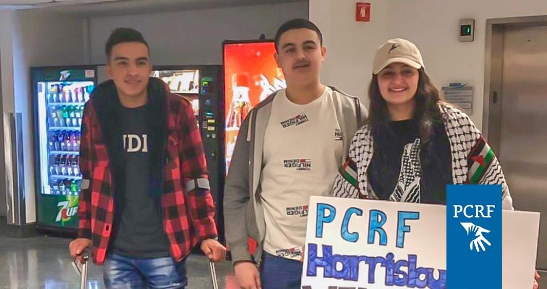 Injured Gaza Boy Arrives in the USA