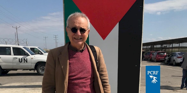Italian Professor Returns to Gaza