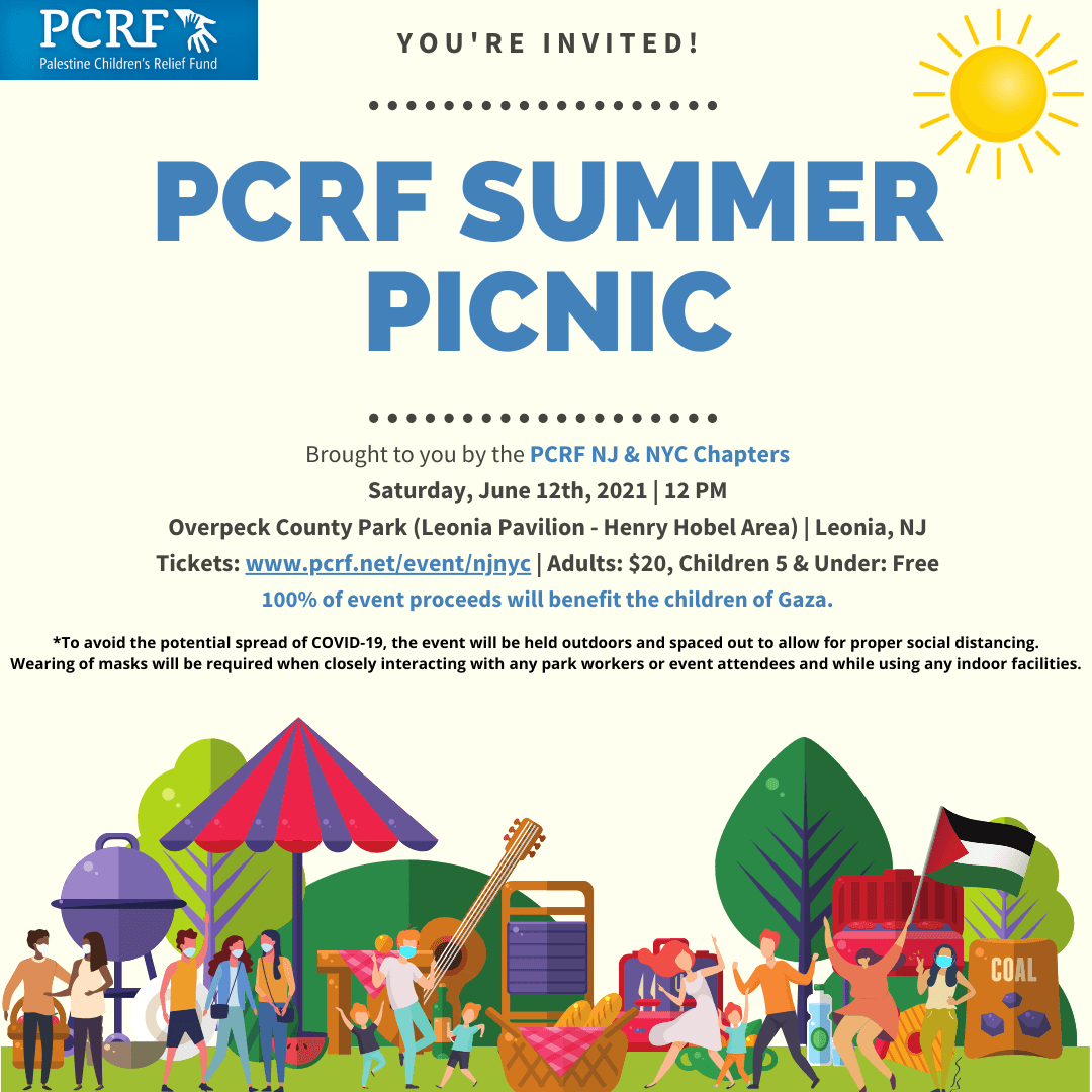 PCRF NYC & NJ Chapters Summer Picnic