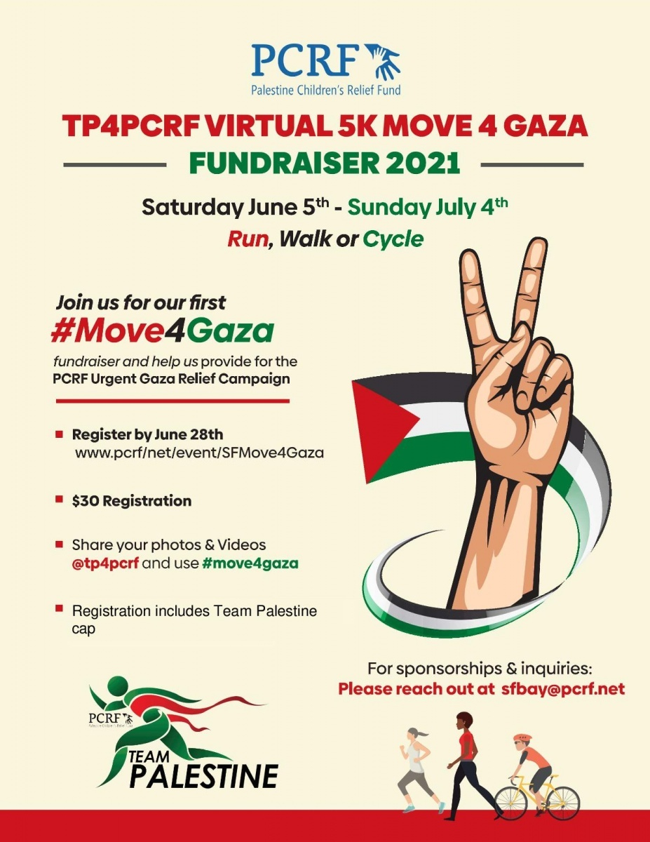 SF Bay Area Move for Gaza 5k