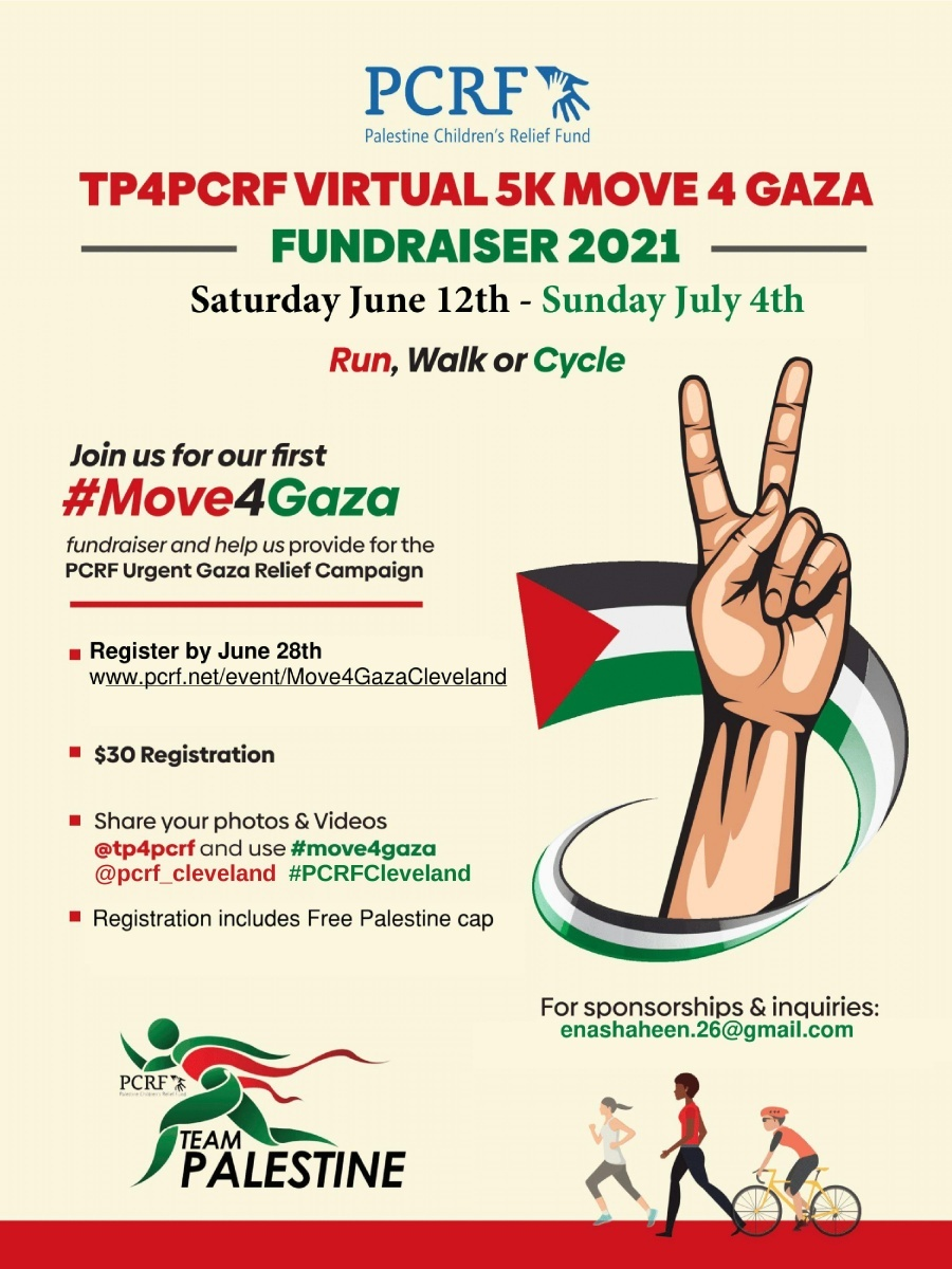 Cleveland Move for Gaza 5k
