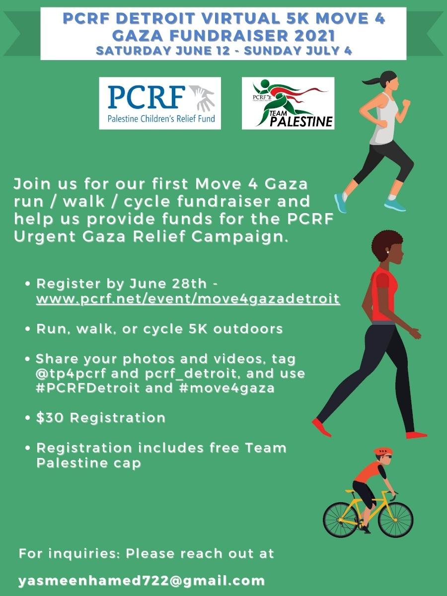 Detroit Move for Gaza 5k