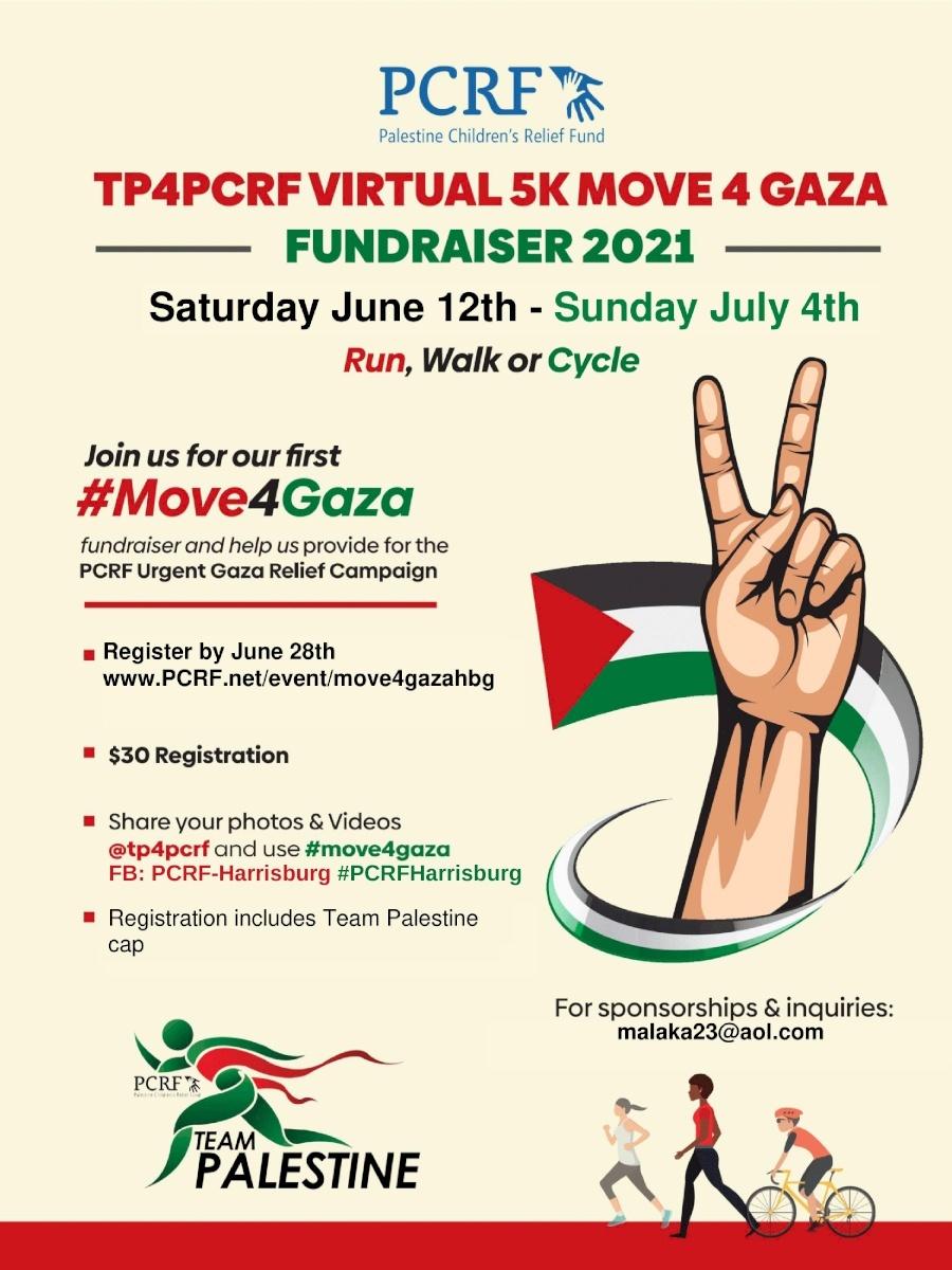 Harrisburg Move for Gaza 5K