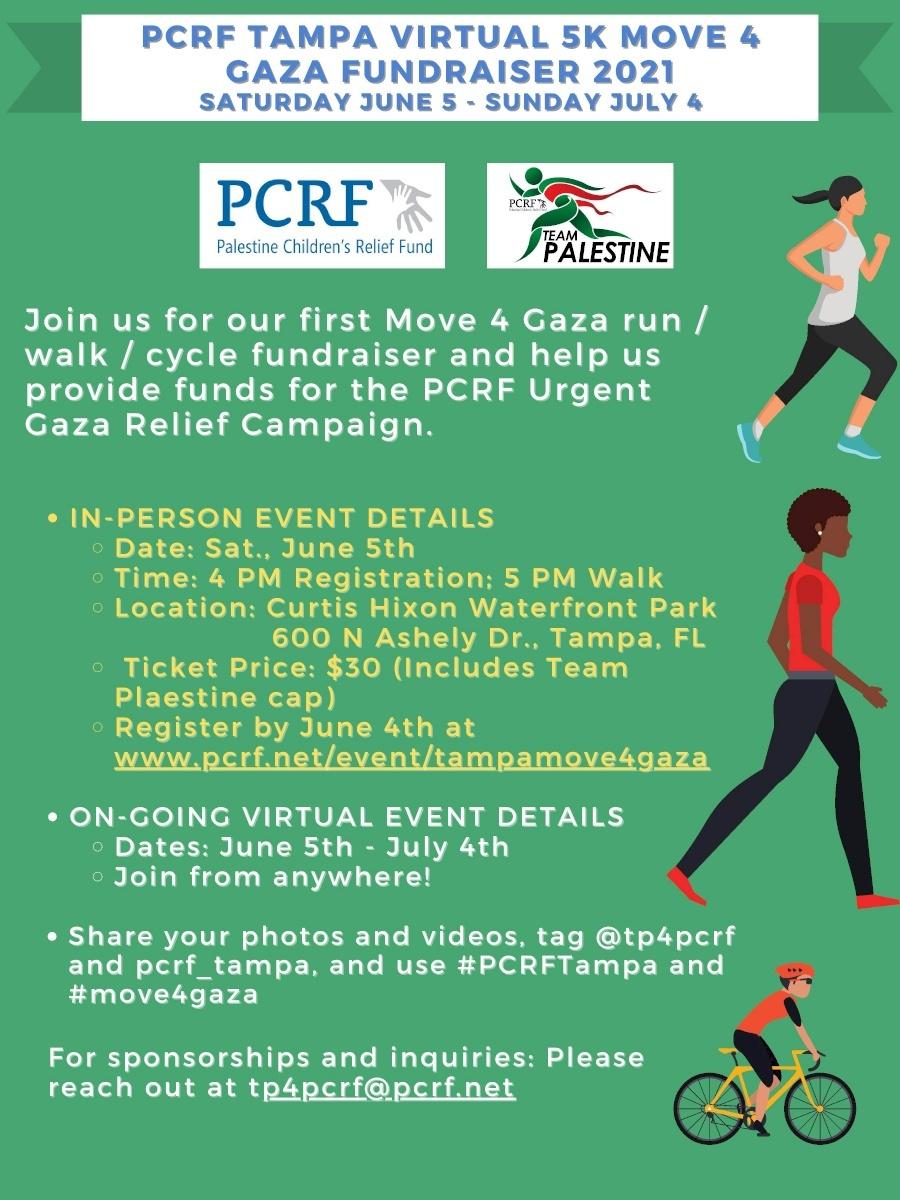 Tampa Move for Gaza 5K.