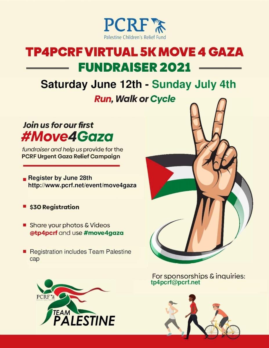 Virtual 5K Move 4 Gaza