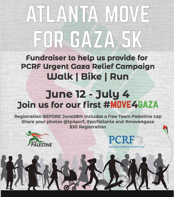 Atlanta Move for Gaza 5K
