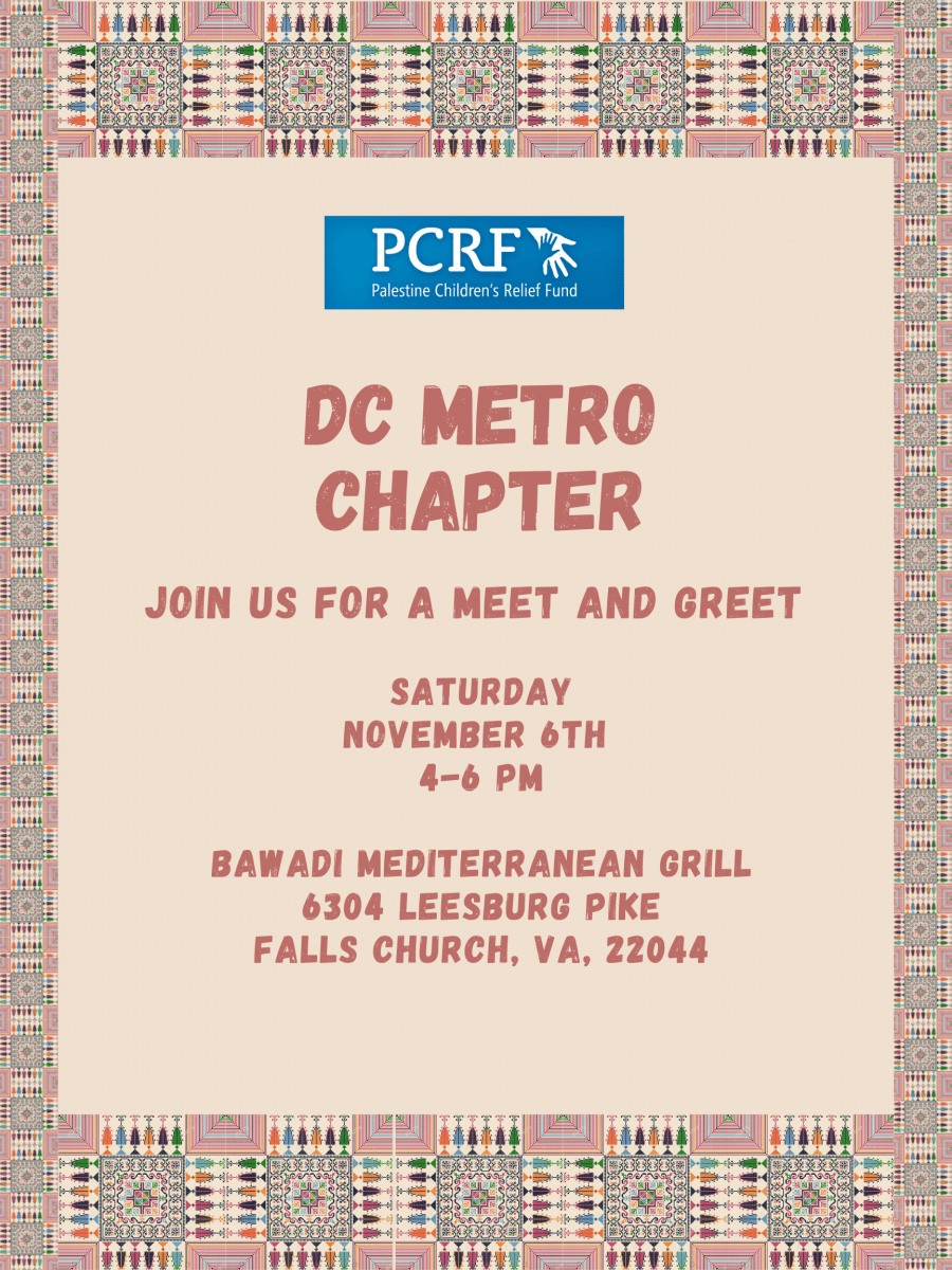 DC Metro Chapter Meet and Greet