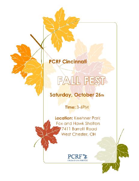 PCRF – CINCINNATI FALL FEST