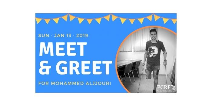Meet & Greet for Mohammed Aljjouri